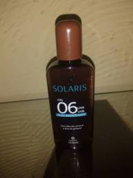 Óleo bronzeador Solaris