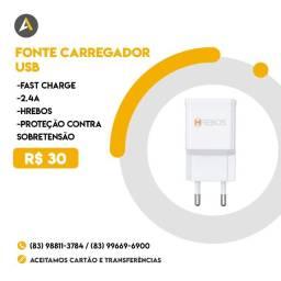 Fonte para Carregador USB