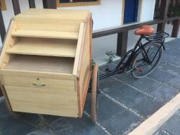 Bicicleta Expositora para Vendas