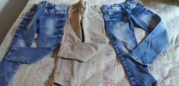 Calça jeans infantil tamanho 4