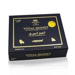 Mel Vital Honey Vip 100% Original 24 sachês