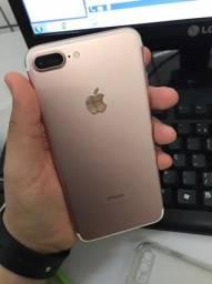 IPHONE 7 PLUS 32GB ACEITO TROCA COM VOLTA DE 1400 REAIS. NÃO TROCO SOMENTE O APARELHO