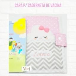 Porta Caderneta De Vacinação Vacinas Do Bebê C/ Nome