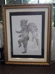Obra de Arte: Maurino de Araújo,  Desenho nanquim A4