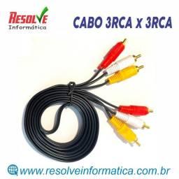 Cabo 3RCA x 3RCA