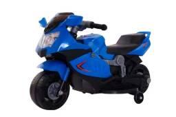 Mini moto elétrica infantil 6v luz som