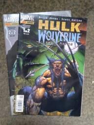 Hulk/Wolverine: 6 horas - mini série em 2 edições completa