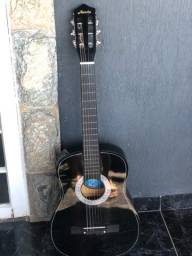 violão austin + capa