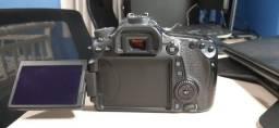 Câmera Canon 70D - Usada em ótimo estado