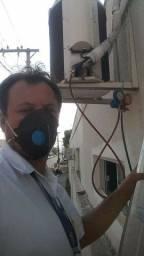 Título do anúncio: Manutenção instalação e higienização de seu ar condicionado