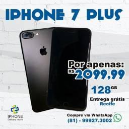 IPhone 7 PLUS 128gb Completo (Entrega Grátis)