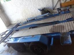 Carretinha 5 motos transporte