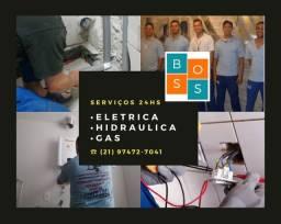Eletricistas 24hs- Residências,Comércios,Prédios,Escolas Média e alta tensão