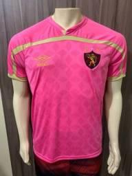 Camisa do Sport rosa