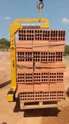 Garfo Paleteiro p/ Caminhão com Munck Guindaste 2.000kg (amarelo)