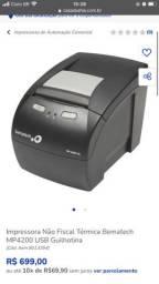 Impressora termica não  fiscal Bematech