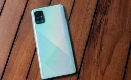 Samsung a71 semi novo