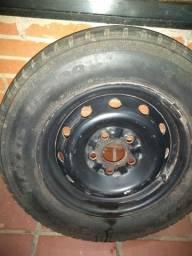 Roda de ferro Hyundai HR