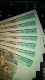Cédula Cz$ 200 - 7 notas