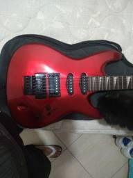 Guitarra Golden com Amp.