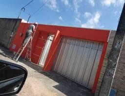 Vendo casa plana Parque Santana Mondubim R$: 280 mil