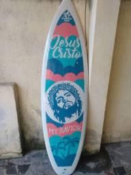 Prancha de surf personalizada bom estado