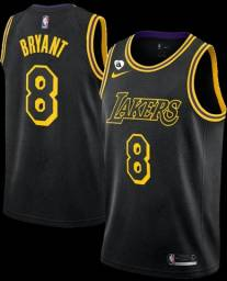 Regata Lakers Black Mamba 8 Bryant Swingman