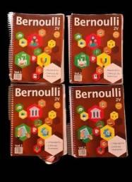 Apostilas Bernoulli 4 volumes