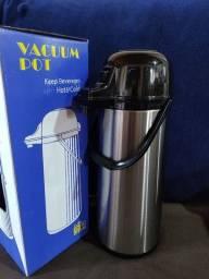 Térmica inox 1.9 litros com ampola de vidro