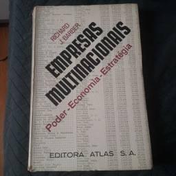 Livro- empresas multinacionais, poder, economia e estratégia - Richard J. Barber