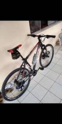 Bicicleta aro 29 k9 freio hidráulico