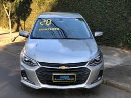 onix sedan plus  premier 1.0 tb + automatico + bx km + novo mesmo