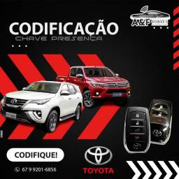 CHAVE PRESENCIAL TOYOTA