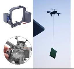 Vendo garra de entrega remota, resgate, pesca para dji mavic pro, atirador de drone