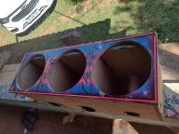 Caixa de som personalizada corsa