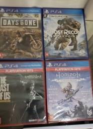Jogos PS4 lacrados