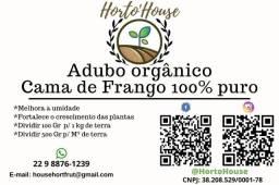 Adubo Orgânico 100% Natural Cama de Frango
