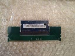 Adaptadores Memória Ddr3 de Notebook para PC Novo + Brinde!