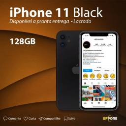iPhone 11 Preto 128GB Lacrado Upfone