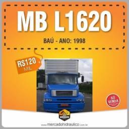 Título do anúncio: MB L1620 / 1998 ? Baú