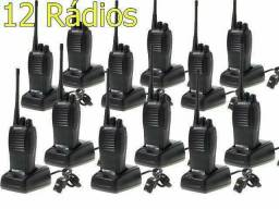 <br>Kit 12 Radios Comunicadores Baofeng Walk Talk Baofeng 777s