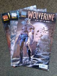 Wolverine: O fim - mini série em 3 edições completa