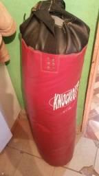 Saco de box + luvas