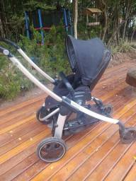 Kit Cadeira Fisher Price +  Carrinho Bebe Confort + bebê conforto
