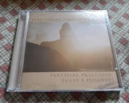 Cd Duplo João Carlos Martins - Fantasias, Prelúdios - Lacrado !!!!