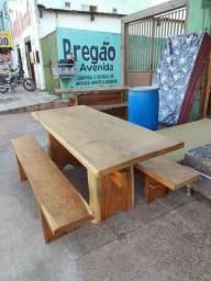 Mesa madeira maciça Pranchão 2 metro (novo)