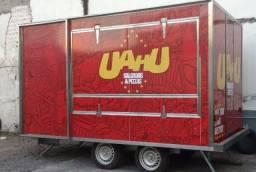 Trailer - Food Truck Novo - Reforçado e Bem Acabado