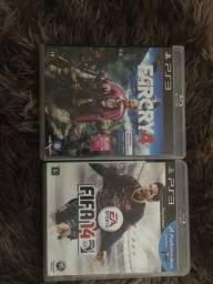 Vendo dois jogos pa3 barato