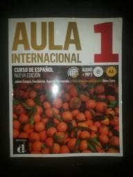Livro Aula Internacional 1 espanhol