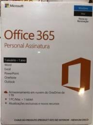 Microsoft Office 365 Personal Assinatura Anual + 1tb Onedrive